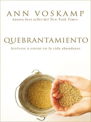 cover image of Quebrantamiento